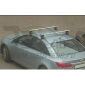 Багажник в сборе Chevrolet Cruze (Шевроле Круз) (2009-) (аэродинамический профиль дуги) (алюмин.)