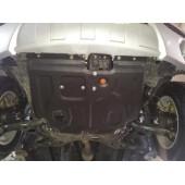 Защита картера двигателя и кпп Lifan Х60 V-1,8 (2012-)  (Сталь 2 мм)