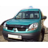 Дефлектор капота Renault Kangoo (2006-) (темн.)