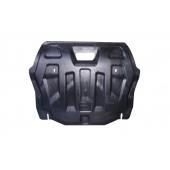 Защита картера двигателя и кпп Honda (Хонда) Civic (Цивик) 4D SD V-1,8 (2012-)  (Композит 6 мм)