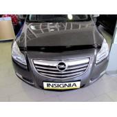 Дефлектор капота Opel Insignia (2008-) (темный)