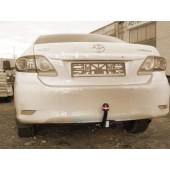 Фаркоп для Toyota Corolla (Тойота Королла) (2007-2013-) (без электрики)