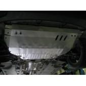 Защита картера двигателя и кпп Volkswagen Jetta V-1,4 TSI (2011-) (Сталь 1,8 мм)