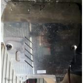 Защита картера Honda Pilot ,V-3,5 (2008-11) + КПП (алюмин.)