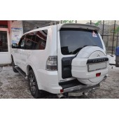 Фаркоп Mitsubishi Pajero (Митсубиши Паджеро) 4 (бензиновый) (2008-) без электрики