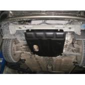 Защита картера двигателя и кпп Chevrolet Lanos (Шевроле Ланос) (V-все, 2005-2009) / ZAZ Shance (V-все, 2009-)  (Сталь 1,8 мм)