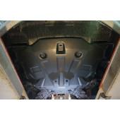 Защита картера двигателя и кпп Hyundai Elantra,V-все(2014-) (Композит 6 мм)