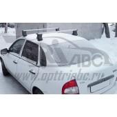 Багажник в сборе (ВАЗ 1118 Калина) (дуга 20х30) (алюмин.)