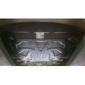 Защита картера двигателя и кпп Kia Sorento Prime (Киа Соренто) (V-все, 2015-) (Сталь 1,8 мм)