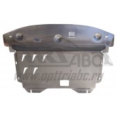 Защита картера двигателя и кпп Kia Sorento (Киа Соренто) V-все (2012-)  (Алюминий 4 мм)