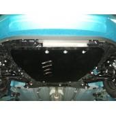Защита картера двигателя и кпп Suzuki Splash (V-1,2; 2008-)  (Алюминий 4 мм)