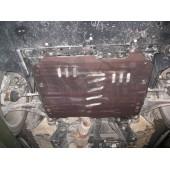 Защита картера двигателя и кпп Cadillac SRX, V-все (2010-) (Сталь 1,8 мм)