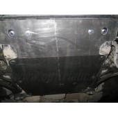 Защита картера двигателя VW Touareg (Туарег) V-все (2002-2010-)/Porsche Cayenne V-все (2002-2010-)(сталь 1,8 мм)