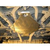Защита редуктора заднего моста VW Touareg (Туарег) V-3,6 (2010-)(сталь 1,8 мм)