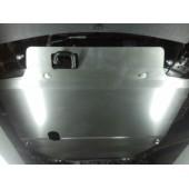 Защита картера двигателя и кпп Chevrolet Captiva (Шевроле Каптива) V-2.4; 3,0 (2012-)/Opel Antara (Опель Антара) (2012-)  (Сталь 2 мм)