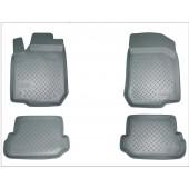 Коврики салона для Audi (Ауди) Q3 (2011-) (серые)
