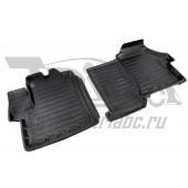 Коврики салона резиновые с бортиком для Fiat Ducato (2012-) (2 передних)