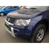 Дефлектор капота Suzuki Grand Vitara (2005-) (темный)