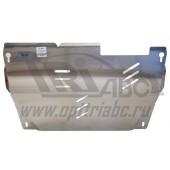 Защита картера двигателя и кпп Nissan Murano,Z51, 4WD V-3,5 (2008-) (Алюминий 4 мм)
