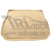 Коврик багажника для BMW X5 (2000-) (беж)