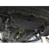 Защита картера двигателя и кпп Toyota Camry (Тойота Камри) (V-2,5 2011-)/Highlander (2010-2013)  (Сталь 1,8 мм)