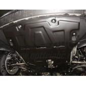 Защита картера двигателя и кпп Kia Sportage, V-все, (2016-)/Hyundai Tucson, V-все, (2015 -)(Сталь 1,8 мм)