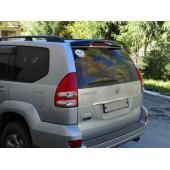 Дефлектор заднего стекла Toyota LC Prado 120 ((2001-2008) (темный)