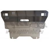Защита картера двигателя и кпп Ford Kuga V-1.6; 2,0D(2013-) (Алюминий 4 мм)