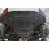 Защита картера двигателя и кпп Volvo (Вольво) V40 Cross Country (2012-) (Композит 6 мм)
