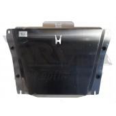 Защита картера двигателя и кпп Honda (Хонда) Civic (Цивик) 4D SD V-1,8 (2012-) , (Алюминий 4 мм)