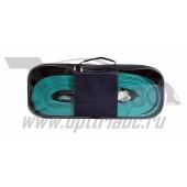 Трос-лента 18 т. профессиональный со скобами (в серой сумке) (длинна 9м.)