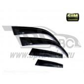 Дефлекторы боковых окон Lexus GS (2011-) (4шт.) (темн.)