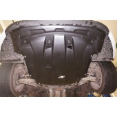 Защита картера двигателя и кпп KIA Optima (V-все, 2014-)  (Композит 6 мм)