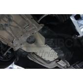 Защита АКПП BMW 5er, V-2.0i, задний привод (2012-)(Алюминий 4 мм)