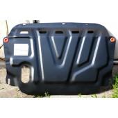 Защита картера двигателя и кпп Hyundai Elantra(07-10)/I30(07-12)/KIA Сeed(06-12)/Cerato(08-12) V-все (Сталь 1,8 мм)