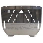 Защита картера двигателя и кпп Ford EcoSport V-1,6; 2,0 ( 2014-)  (Алюминий 4 мм)