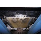 Защита картера Honda Civic 4D SD V-1,8 (2012-) + КПП (алюмин.)