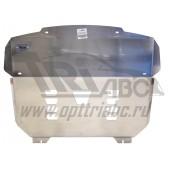 Защита картера двигателя и кпп Kia Sorento Prime (Киа Соренто) V-все (2015-), усиленная  (Алюминий 4 мм)