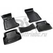 Коврики салона резиновые с бортиком для BMW 5 серии