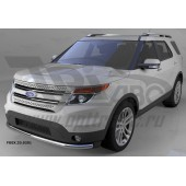 Защита переднего бампера Ford Explorer (2013-) (одинарная) d 60