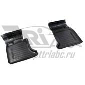 Коврики салона резиновые с бортиком для BMW 5 серии (2 передних)