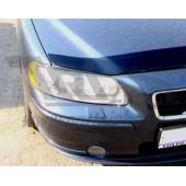 Дефлектор капота Volvo S60 (-2009) (темный)