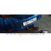 Фаркоп для Renault Logan (Рено Логан) (2014-)/Sandero (Рено Сандеро) Хэтчбек (2014-)(без электрики)