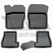 Коврики салона резиновые с бортиком для Ford Focus III(2011-)