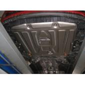 Защита картера двигателя и кпп Kia Ceed (Киа Сид) V-все(12-15)/Cerato V-все(13-)/Hyundai I30 V-все(12-15) штамп. (Сталь 1,8 мм)