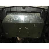 Защита картера двигателя и кпп Chevrolet Captiva (Шевроле Каптива) V-все (2006-11) / Opel Antara (Опель Антара) V-все (2007-11)  (Алюминий 4 мм)