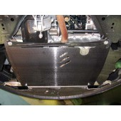 Защита картера двигателя и кпп Opel Corsa (Опель Корса) D(V-все, 2007-)  (Сталь 1,8 мм)