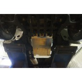 Защита КПП+РК VW Amarok (Амарок) V-2,0 TD,КПП-все(2009-) (Алюминий 4 мм)