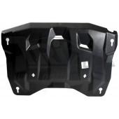 Защита картера двигателя и кпп Infiniti (Инфинити) QX60 (JX35) V3,5 (2012-)/Nissan Pathfinder V-3,5 (2014-) (Композит 6 мм)