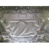 Защита картера двигателя и кпп Toyota Rav4 (V-2,0; 2,2TD 2013-)/ Rav4 (V-2,0 2010-2012)  (Сталь 2 мм)